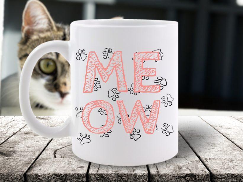 Cana Meow Paw Print
