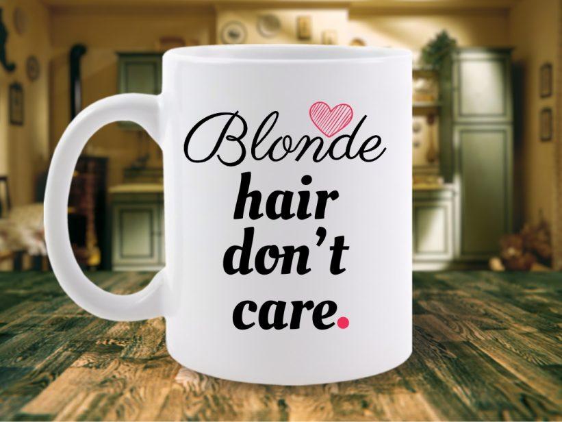 CANA MESAJ BLONDE HAIR DONT CARE