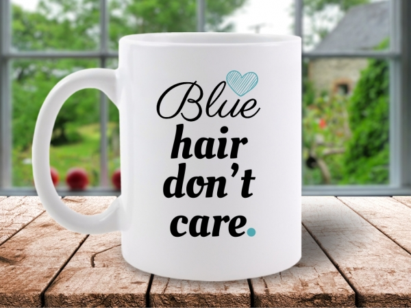 CANA MESAJ BLUE HAIR DONT CARE