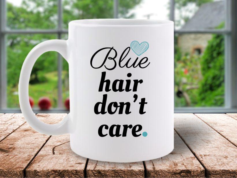 Cana Mesaj Blue Hair