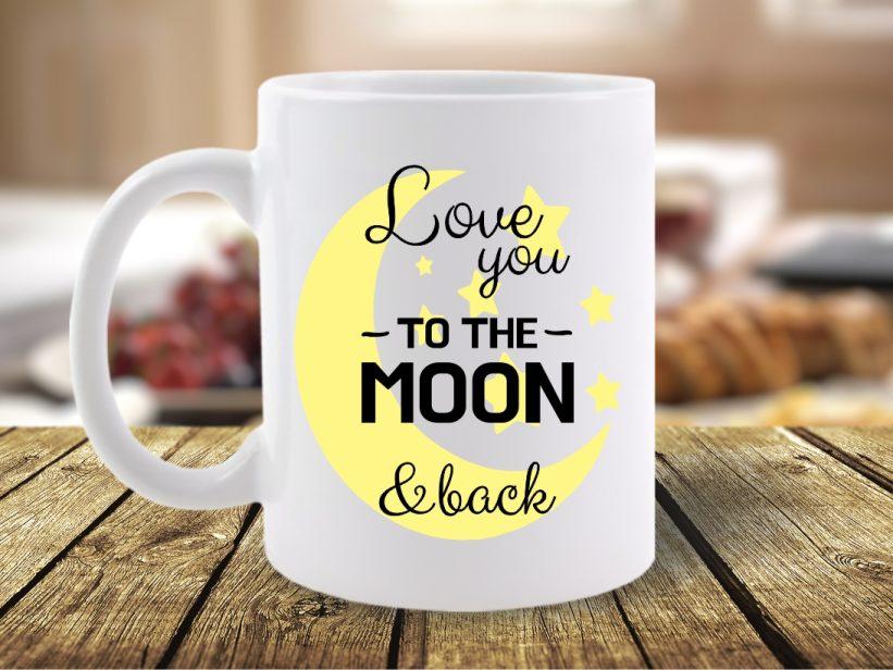 Cana Mesaj Love You to the Moon & Back