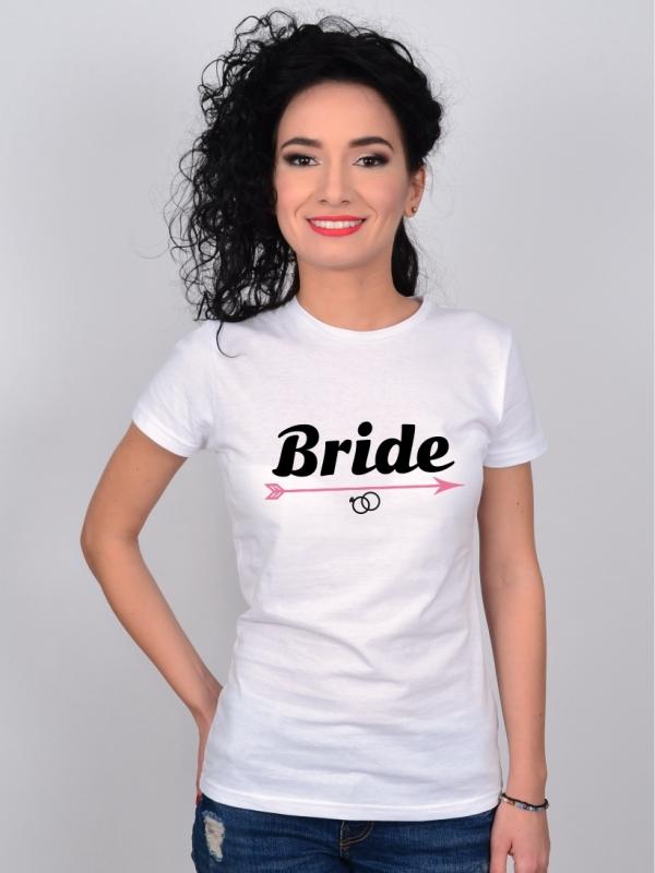 Tricou Petrecerea Burlacitelor Mesaj Bride