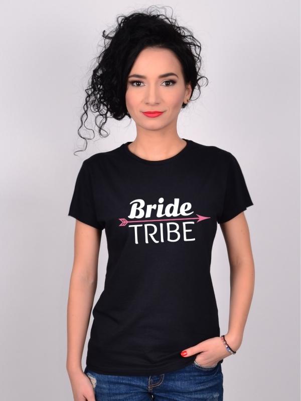 Tricou Petrecerea Burlacitelor Bride Tribe