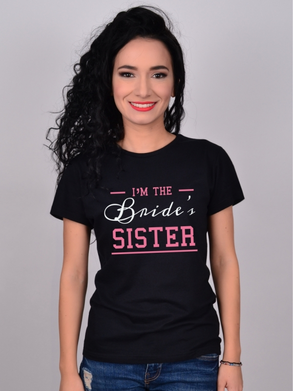 Tricou Negru Pentru Sora Miresei