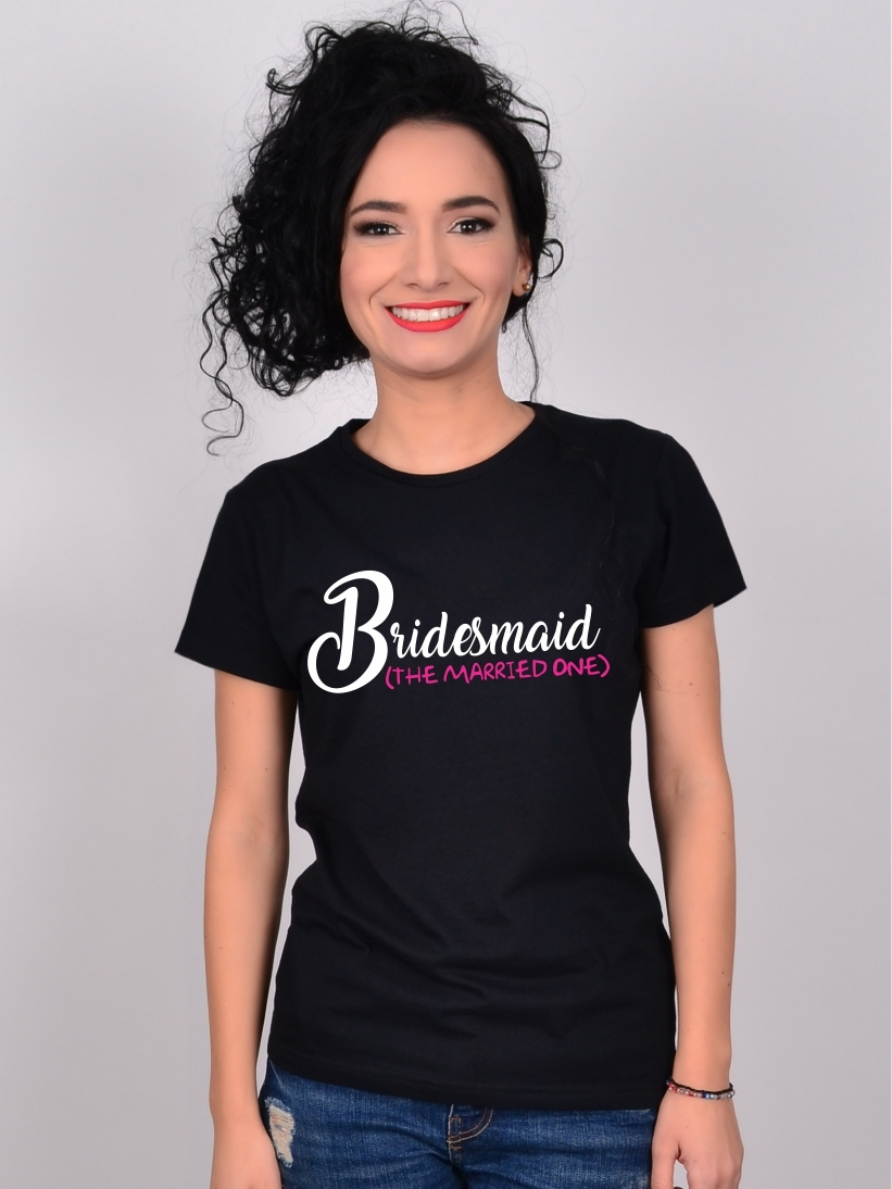 Tricou Burlacite Bridesmaid The Married One