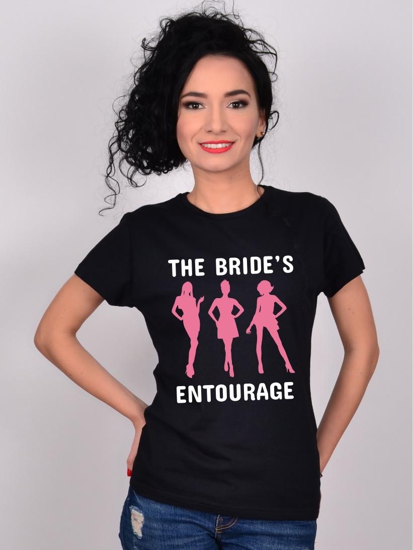 Tricou Petrecerea Burlacitelor The Bride's Entourage