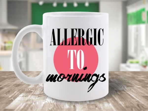 CANA MESAJ ALLERGIC TO MORNINGS