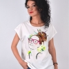 BLUZA ALBA IMPRIMEU PENCIL ART