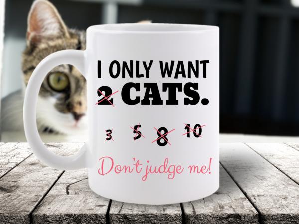 CANA MESAJ I ONLY WANT 2 CATS