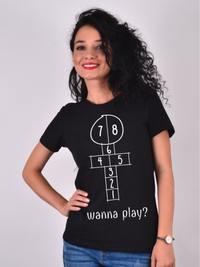 TRICOU SOTRON WANNA PLAY