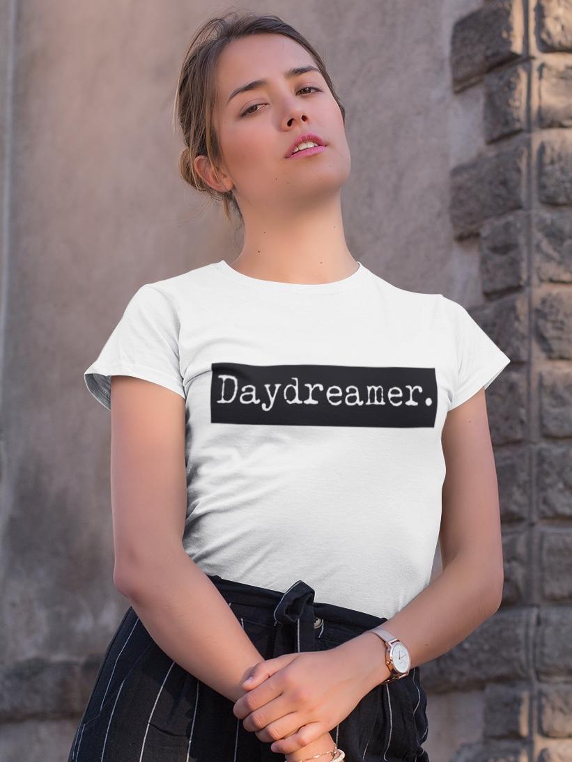 Tricou Alb Daydreamer