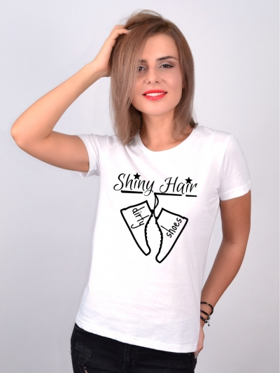 Tricou Despre Par Shiny Hair Dirty Shoes