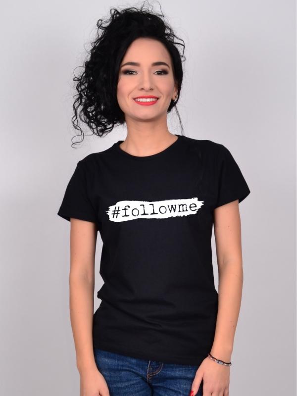 Tricou Negru #followme
