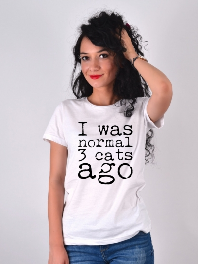 TRICOU I WAS NORMAL 3 CATS AGO ALB