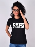 TRICOU OVER DRESSED NEGRU