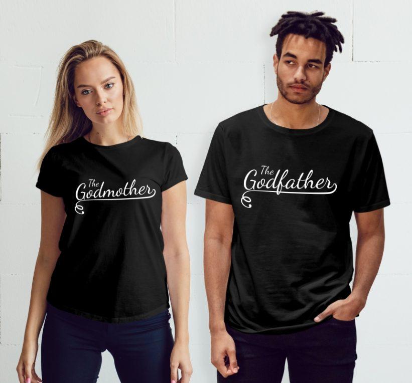 Tricouri Cuplu The Godfather & The Godmother