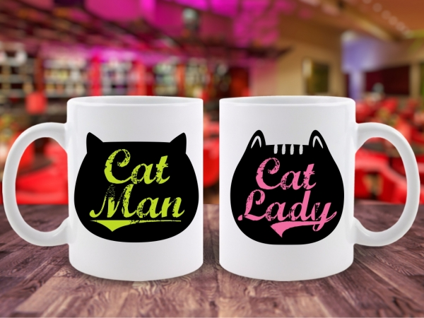 Cani Cuplu Cat Man & Cat Lady