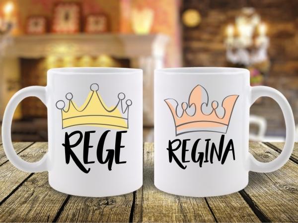 Cani Cuplu Rege si Regina