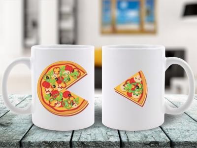 Cani Cuplu Pizza You Complete Me