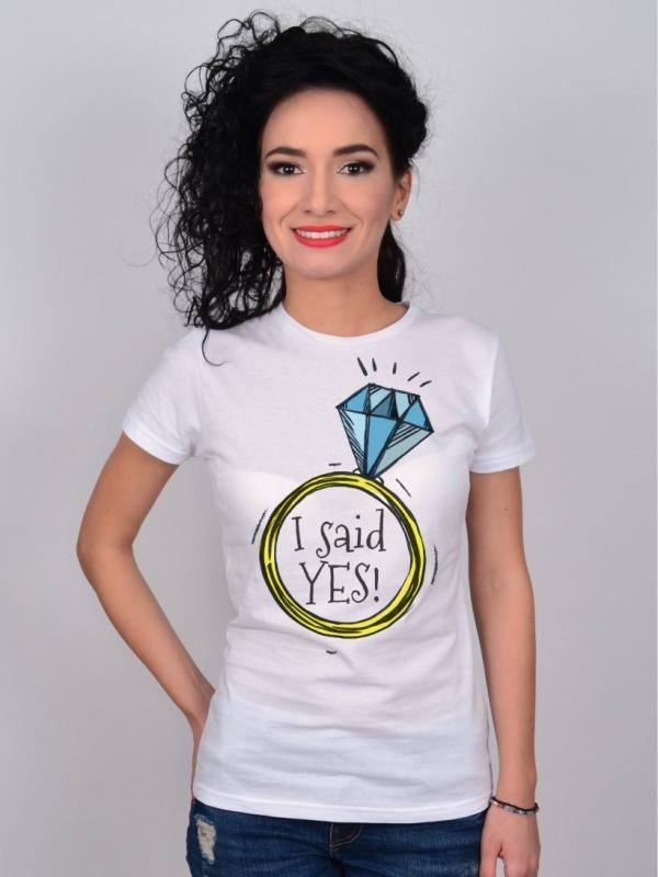 Tricou Mireasa Inel cu Diamant