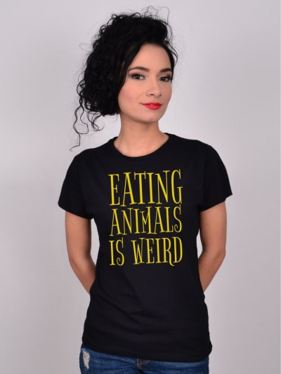 TRICOU EATING ANIMALS IS WEIRD