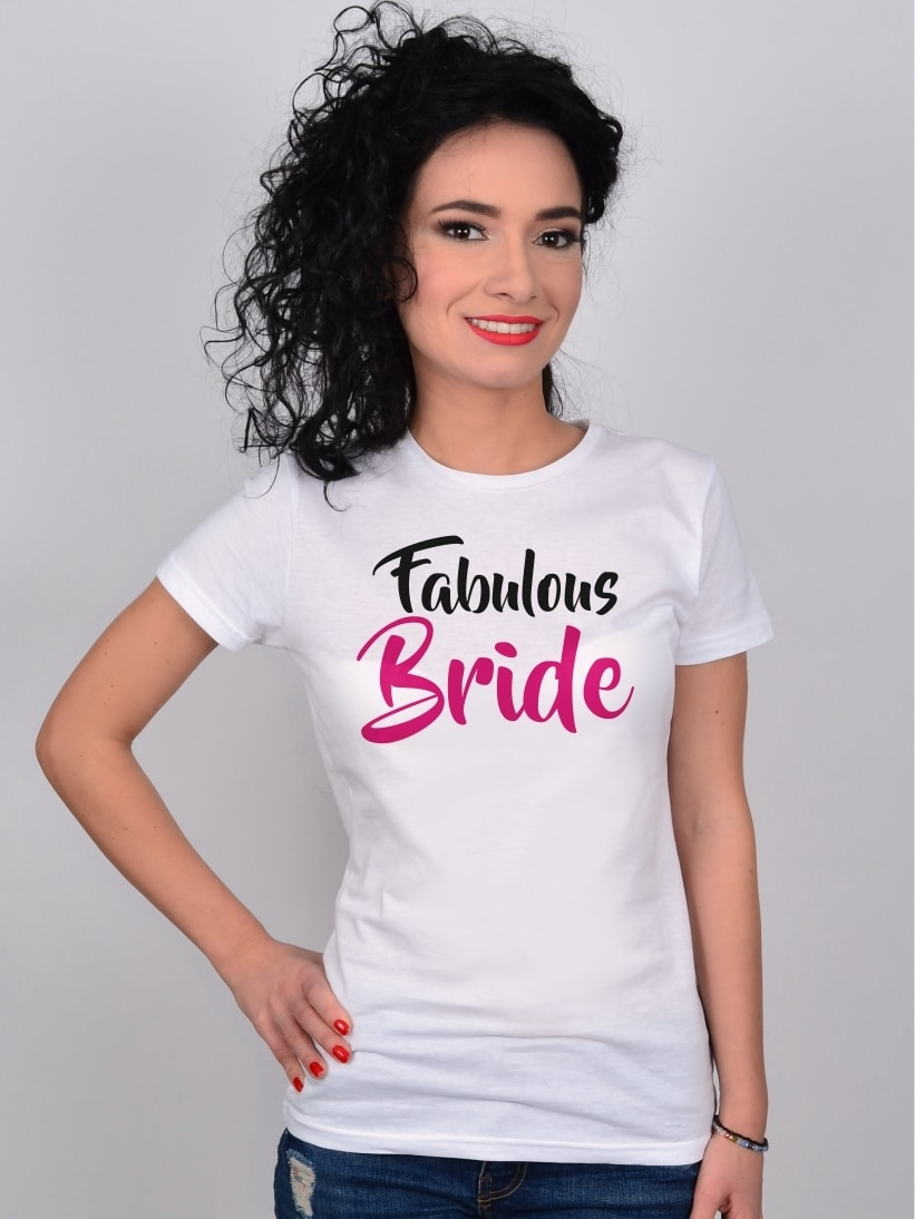Tricou Mireasa Fabulous Bride