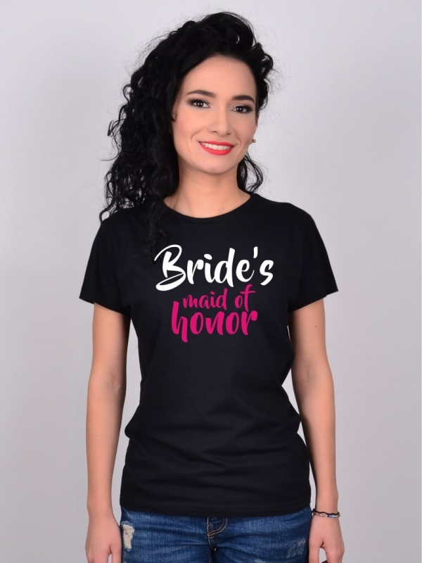 Tricou Burlacite Bride's Bride's maid of honor