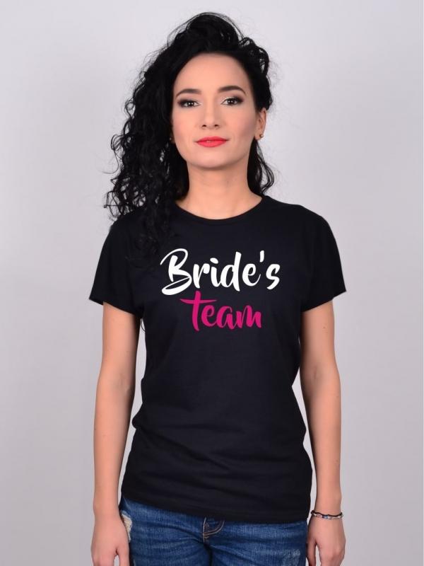 Tricou Petrecerea Burlacitelor Bride's Team