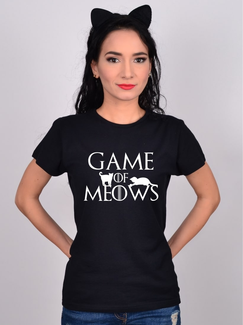 Tricou Pisici Game of Meows