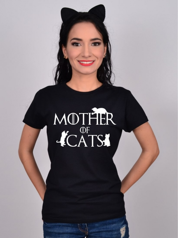 Tricou Pisici Mother of Cats