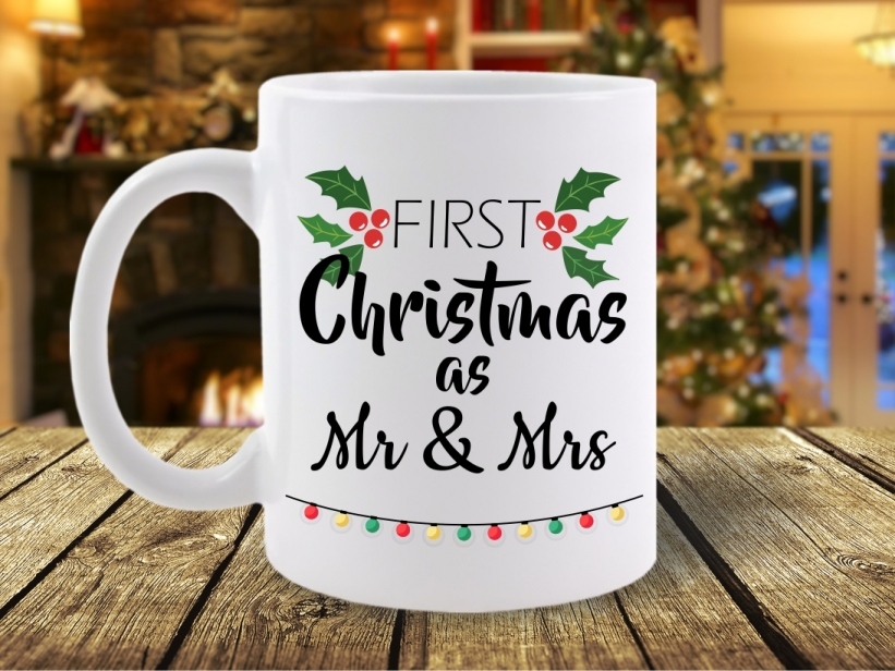 Cana First Christmas as Mr & Mrs