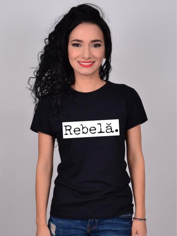 Tricou Negru Rebela