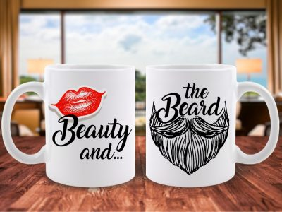 Cani Cuplu Beauty and the Beard