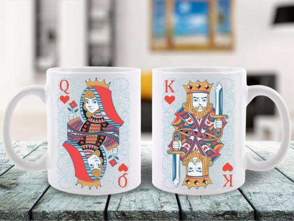 Cani Cuplu Dama si Regele Q & K