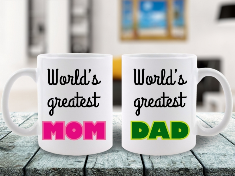 Cani Cuplu World's Greatest Mom & Dad