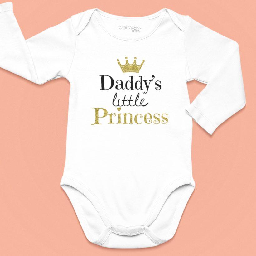 Body Bebelusi cu Mesaj Daddy's Little Princess