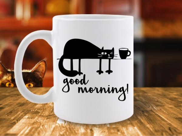 Cana Pisica Good Morning