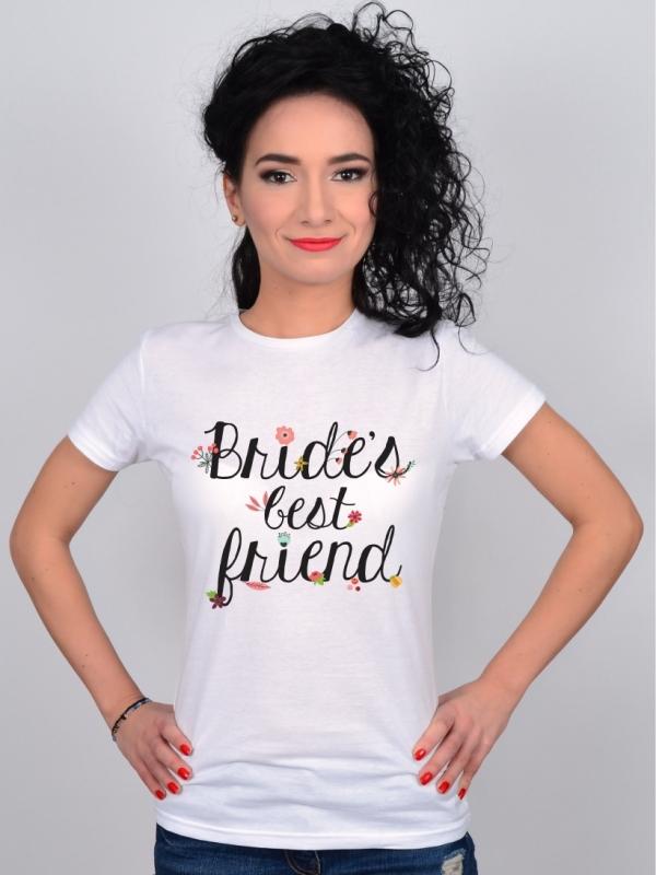 Tricou Petrecerea Burlacitelor Bride's Best Friend