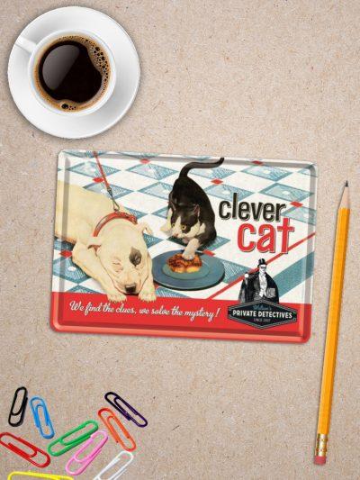 Carte Postala cu Pisici Clever Cat