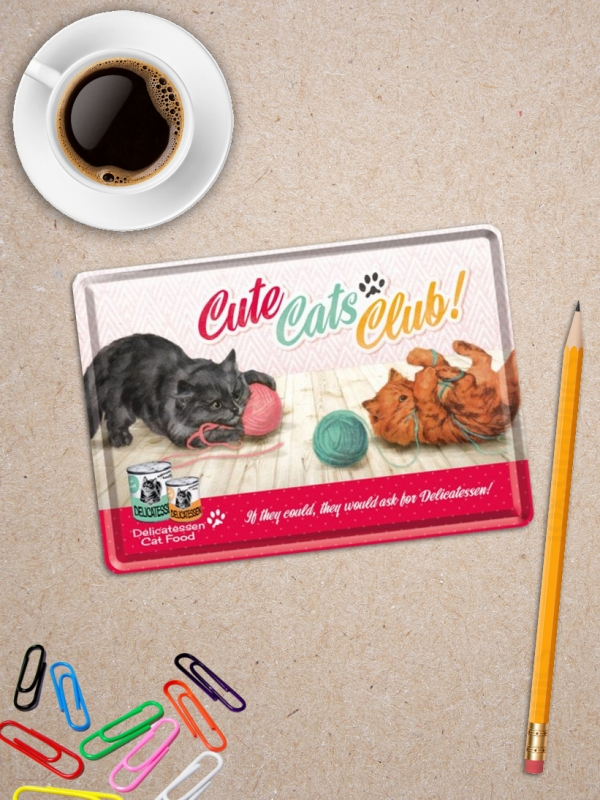 Carte Postala cu Pisici Cute Cats Club