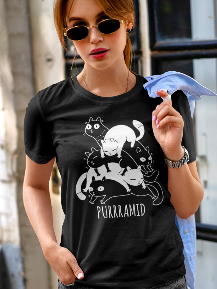 Tricou Pisici Purrramid
