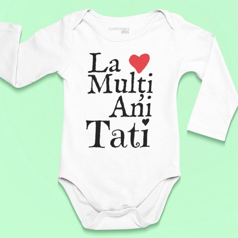 Body Bebe Cu Mesaj La Multi Ani Tati!
