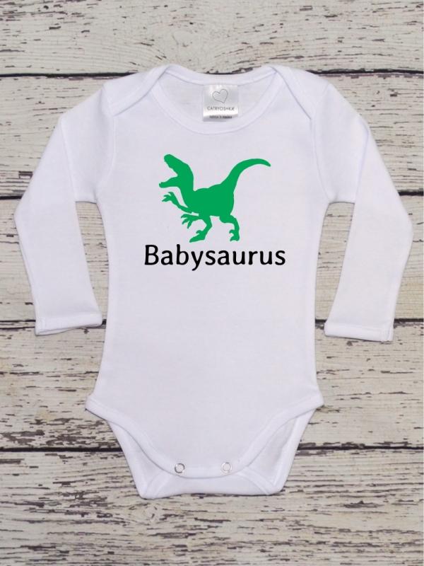 Body Bebelusi Cu Mesaj Babysaurus