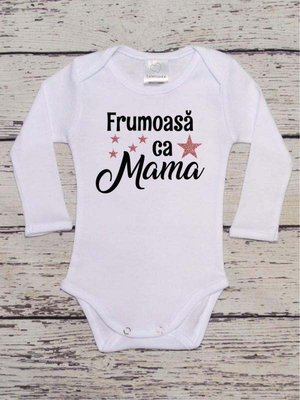 Body Fetite Cu Mesaj Frumoasa ca Mami