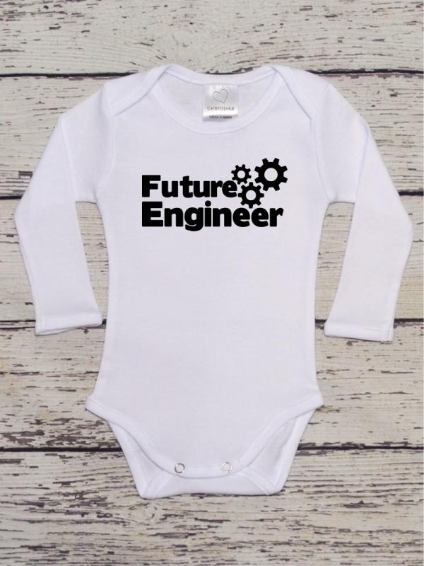 Body Copii cu Mesaj Future Engineer