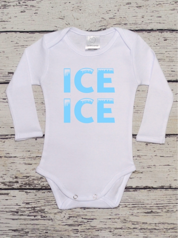 Body Bebelusi Cu Mesaj Ice Ice Baby