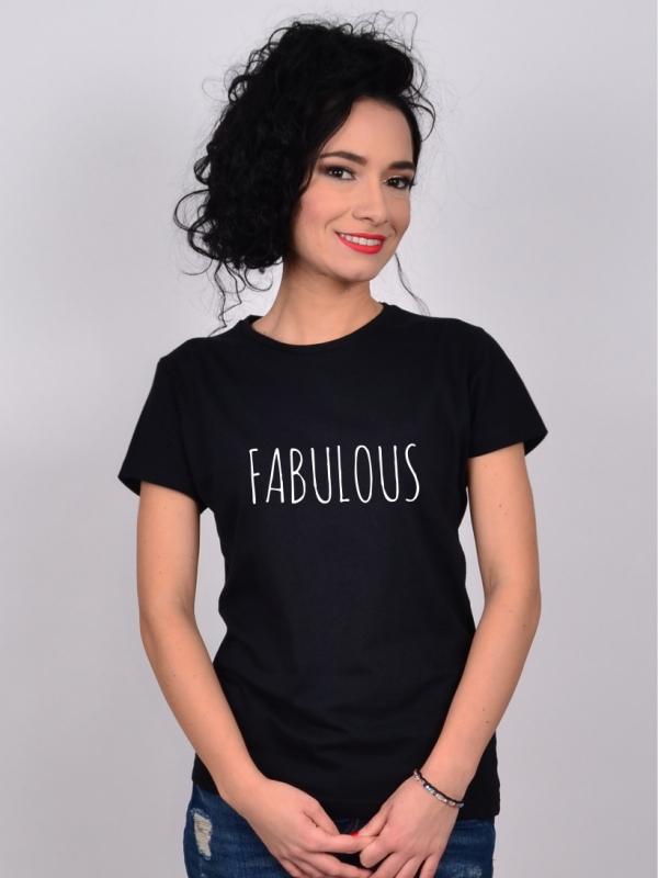 Tricou Negru Fabulous