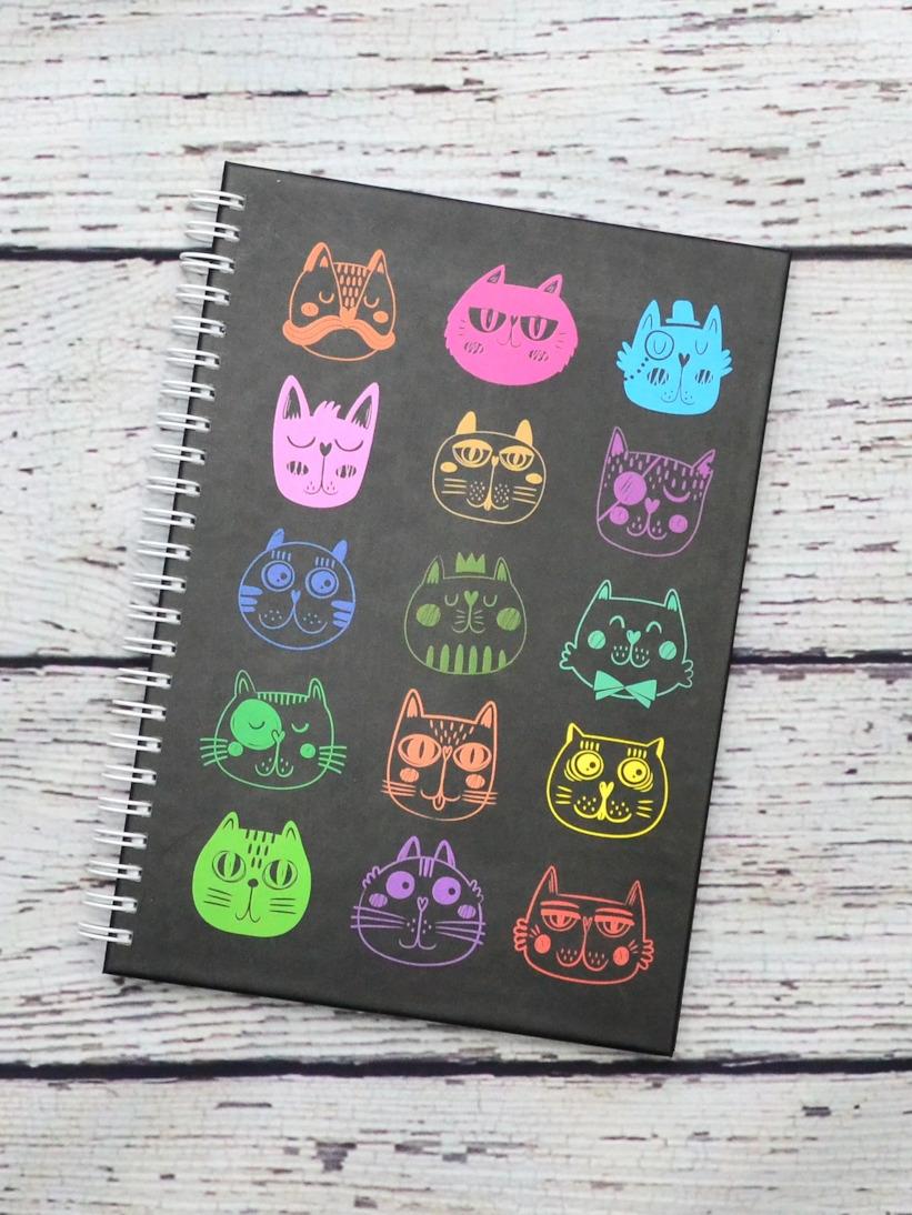 Agenda cu Pisici Colorate