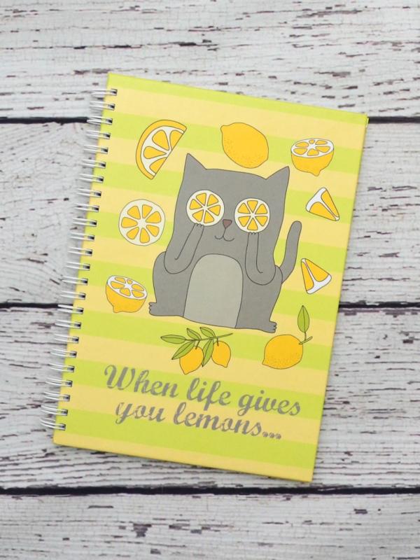 Agenda cu Pisici - When Life Gives You Lemons...