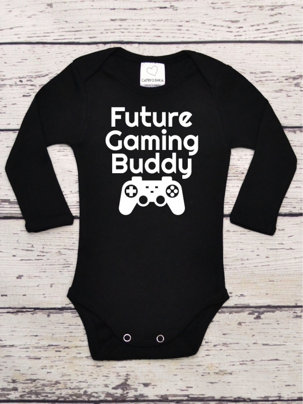Body Bebelusi Future Gaming Buddy Negru